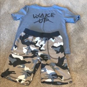 Gap boys shorts PJ set